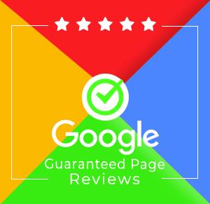 Google Guaranteed Page Reviews
